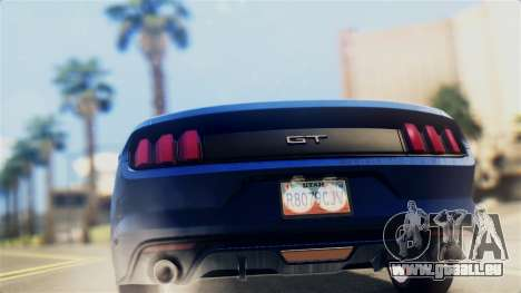 Ford Mustang GT 2015 Stock Tunable v1.0 pour GTA San Andreas vue de droite