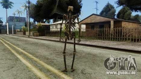 Skeleton Skin v2 pour GTA San Andreas troisième écran