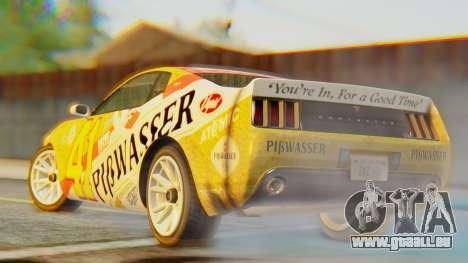 GTA 5 Vapid Dominator Pisswasser IVF pour GTA San Andreas laissé vue