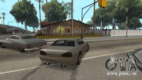 Amélioration de la physique de la conduite pour GTA San Andreas