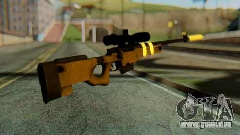 L96 Bandage Silencer pour GTA San Andreas deuxième écran