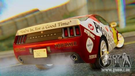 GTA 5 Vapid Dominator Pisswasser SA Lights pour GTA San Andreas laissé vue