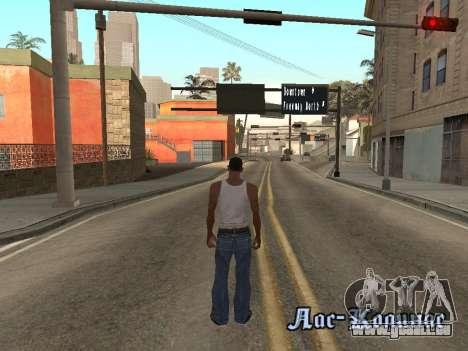 Back Flip pour GTA San Andreas quatrième écran