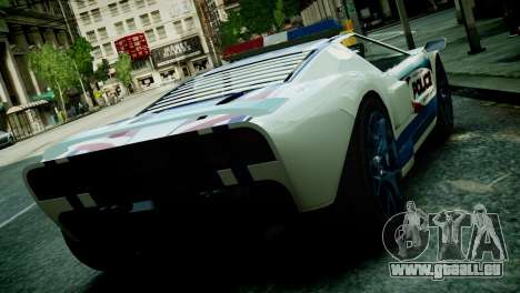 Bullet Police Car für GTA 4 linke Ansicht