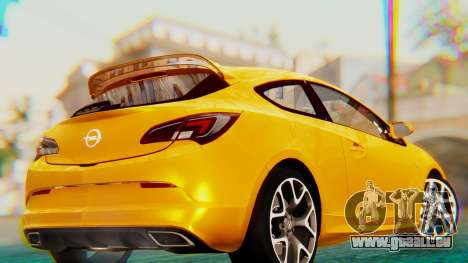 Opel Astra J OPC pour GTA San Andreas