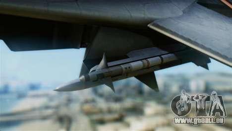 F-14A Tomcat VF-111 Sundowners Low Visibility pour GTA San Andreas vue de droite