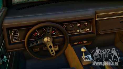 GTA 5 Vapid Dominator Pisswasser SA Lights pour GTA San Andreas vue de droite