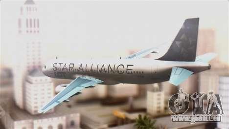 LOT Polish Airlines Airbus A320-200 für GTA San Andreas linke Ansicht
