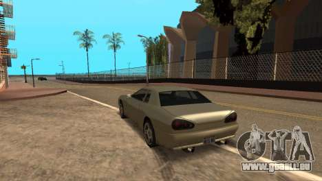 Amélioration de la physique de la conduite pour GTA San Andreas deuxième écran