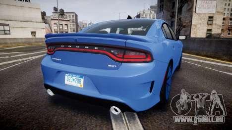 Dodge Charger SRT 2015 Hellcat für GTA 4 hinten links Ansicht