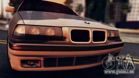 BMW 316i Touring pour GTA San Andreas sur la vue arrière gauche