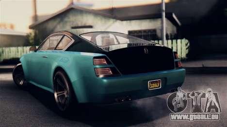 GTA 5 Enus Windsor für GTA San Andreas linke Ansicht