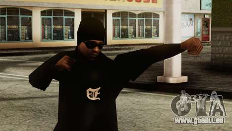 New Ballas Skin pour GTA San Andreas