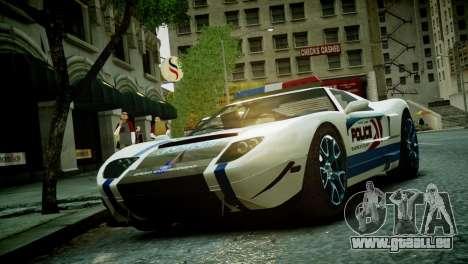 Bullet Police Car für GTA 4