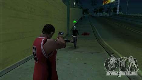 GTA 5 Kill Flash Effect pour GTA San Andreas troisième écran