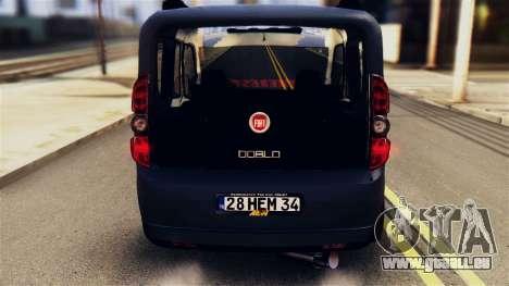 Fiat Doblo für GTA San Andreas rechten Ansicht