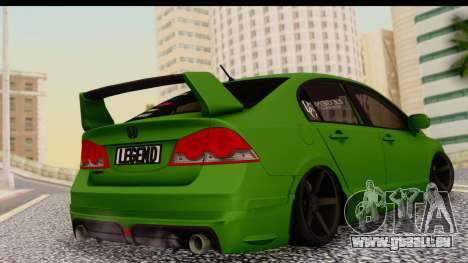 Honda Civic FD6 für GTA San Andreas linke Ansicht