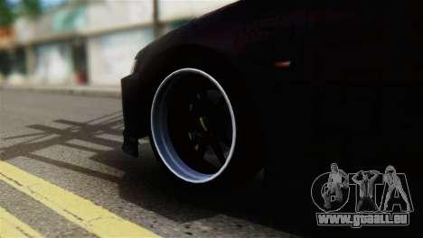 Honda Civic EG6 Kotomi Clannad Itasha pour GTA San Andreas sur la vue arrière gauche