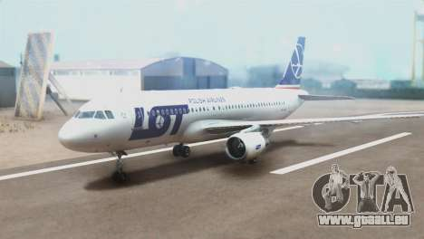 LOT Polish Airlines Airbus A320-200 (New Livery) für GTA San Andreas