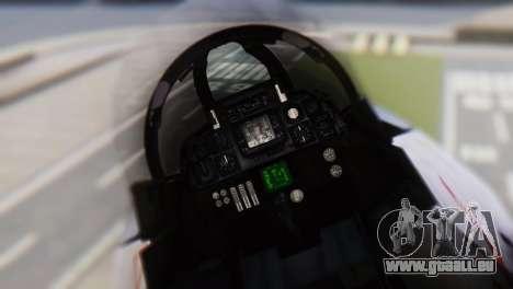 Grumman F-14A Tomcat für GTA San Andreas Rückansicht