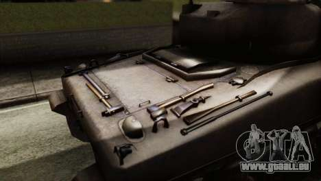 M4 Sherman v1.1 für GTA San Andreas rechten Ansicht