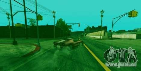 La capacité spéciale de Franklin indicateur pour GTA San Andreas deuxième écran