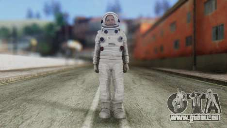 Astronaut Skin from GTA 5 pour GTA San Andreas
