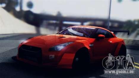Nissan GT-R R35 LW für GTA San Andreas