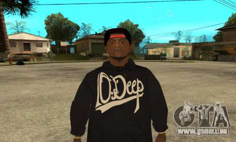 Groove Skin für GTA San Andreas
