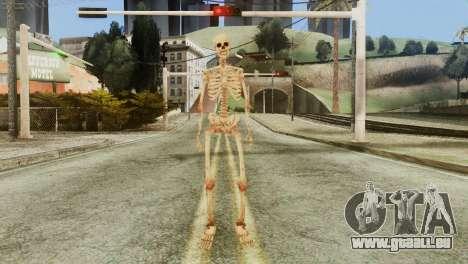 Skeleton Skin v1 für GTA San Andreas zweiten Screenshot