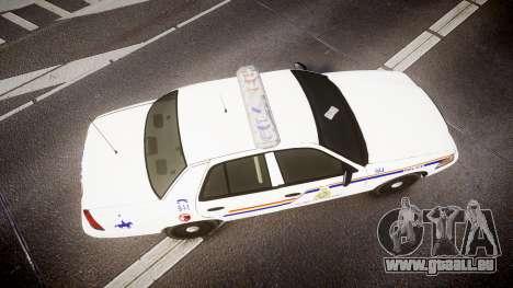 Ford Crown Victoria RCMP Campbellton [ELS] pour GTA 4 est un droit