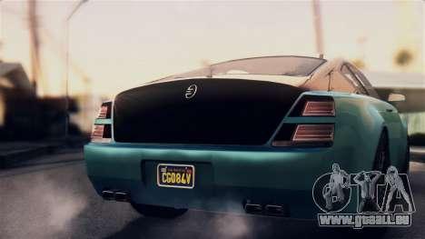 GTA 5 Enus Windsor pour GTA San Andreas vue de droite