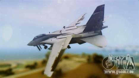 F-14A Tomcat VF-111 Sundowners Low Visibility pour GTA San Andreas laissé vue