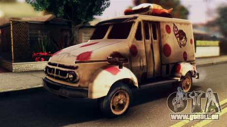 Sweet Tooth Car pour GTA San Andreas