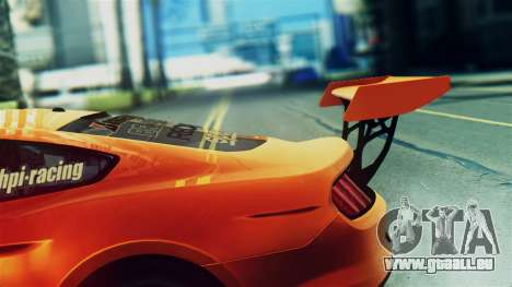Ford Mustang GT 2015 Stock Tunable v1.0 pour GTA San Andreas