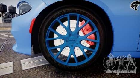 Dodge Charger SRT 2015 Hellcat pour GTA 4 Vue arrière