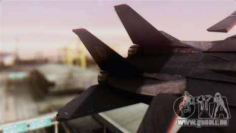 Grumman F-14D Super Tomcat für GTA San Andreas zurück linke Ansicht