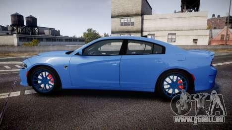 Dodge Charger SRT 2015 Hellcat pour GTA 4 est une gauche