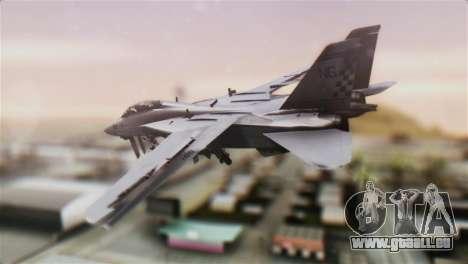 F-14A Tomcat VFA-211 Fighting Checkmates pour GTA San Andreas laissé vue
