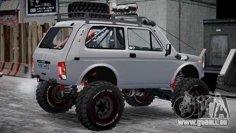VAZ Niva 21213 v2 pour GTA 4 Vue arrière de la gauche