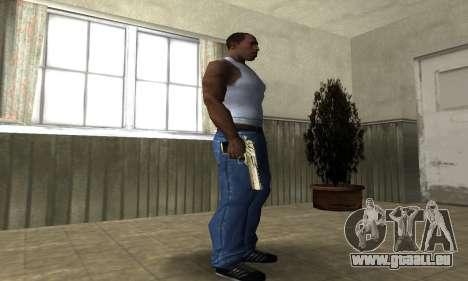 Lumière Froide Deagle pour GTA San Andreas troisième écran