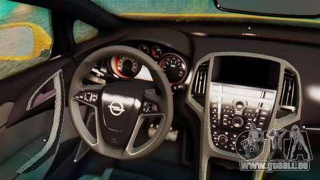 Opel Astra J OPC für GTA San Andreas Rückansicht