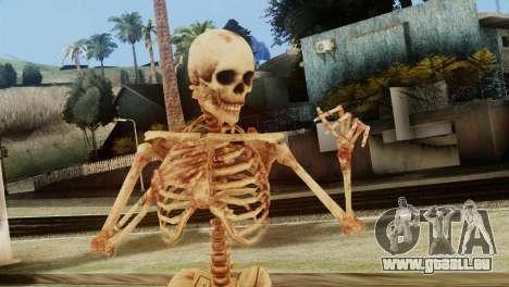 Skeleton Skin v1 für GTA San Andreas