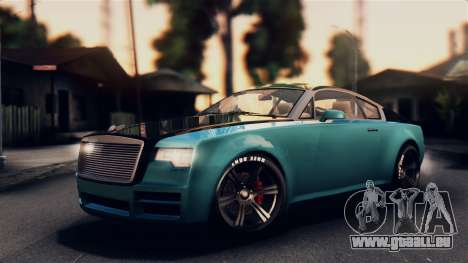 GTA 5 Enus Windsor pour GTA San Andreas