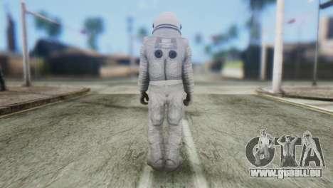 Astronaut Skin from GTA 5 pour GTA San Andreas deuxième écran