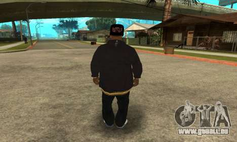 Groove Skin pour GTA San Andreas troisième écran