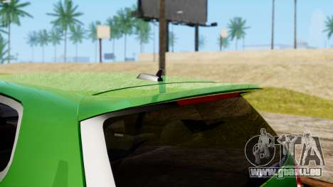 Volkswagen Golf Mk5 GTi Tunable PJ pour GTA San Andreas