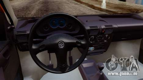 Chevrolet Corsa Classic 2009 v2 für GTA San Andreas zurück linke Ansicht