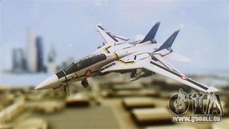 F-14D Tomcat Macross Yellow & Black pour GTA San Andreas
