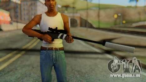 L96 Bandage Silencer pour GTA San Andreas troisième écran